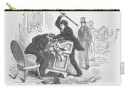 Attack On Sumner, 1856 Carry-all Pouch by Granger