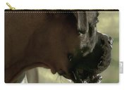 Attention Is Elsewhere...as Usual Carry-all Pouch by DigiArt Diaries by Vicky B Fuller