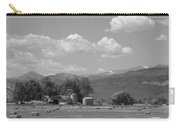 August Hay 75th  St Boulder County Colorado Black And White  Carry-all Pouch