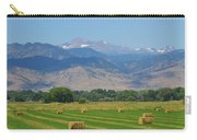 August Hay Boulder County Colorado Carry-all Pouch