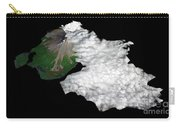 Augustine Volcano, Alaska Carry-all Pouch