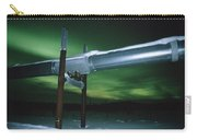 Aurora Borealis Over Pipeline Carry-all Pouch