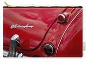 Austin-healey Tail Light And Emblem Carry-all Pouch