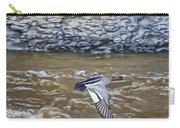 Australian Wood Duck In Flight Carry-all Pouch