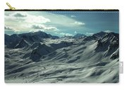 Austria Snow Mountain Carry-all Pouch