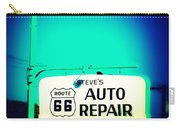 Auto Repair Sign On Route 66 Carry-all Pouch