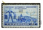 Automobile Association Of America Carry-all Pouch