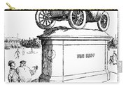 Automobile Cartoon, 1914 Carry-all Pouch