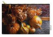 Autumn - Gourd - Still Life With Gourds Carry-all Pouch by Mike Savad