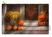 Autumn - Halloween - We're All Happy To See You Carry-all Pouch by Mike Savad