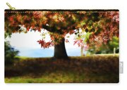 Autumn Acorn Tree Carry-all Pouch