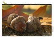 Autumn Acorns Carry-all Pouch