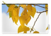 Autumn Aspen Leaves Carry-all Pouch