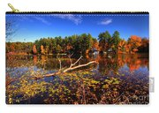 Autumn At Bomoseen Lake  Carry-all Pouch