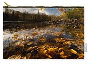 Autumn At Ragged Falls Carry-all Pouch