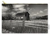 Autumn Barn Black And White Carry-all Pouch