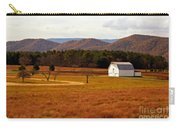 Autumn Barn In Green Bank Wv Carry-all Pouch