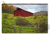 Autumn Barn Painted Carry-all Pouch