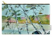 Autumn Birches Carry-all Pouch