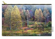 Autumn Bridge In The Fog Carry-all Pouch