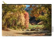 Autumn Campground In Blacksmith Fork Canyon - Utah Carry-all Pouch