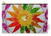 Autumn Chakra Carry-all Pouch by Sonali Gangane