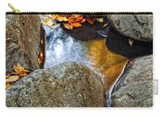 Autumn Colors Reflected In Pool Of Water Carry-all Pouch