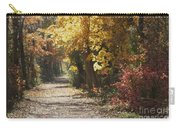 Autumn Dreams With Texture Carry-all Pouch