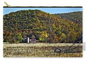 Autumn Farm Painted Carry-all Pouch