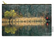 Autumn Fisherman Reflections Carry-all Pouch