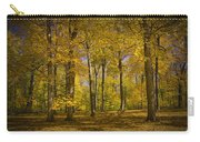 Autumn Forest Scene In West Michigan No.1140 Carry-all Pouch