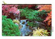 Autumn Garden Waterfall I Carry-all Pouch
