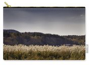 Autumn Grasses - North Carolina Autumn Scene Carry-all Pouch by Rob Travis