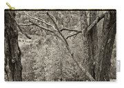 Autumn Grazing 2 Sepia Carry-all Pouch