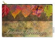 Autumn Greeting Card IIi Carry-all Pouch