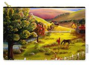 Autumn In The Valley Carry-all Pouch