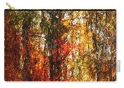 Autumn In The Woods Carry-all Pouch by David Lane