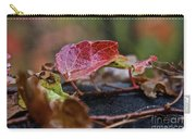 Autumn Ivy In Red Carry-all Pouch