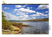 Autumn Lake Shore Carry-all Pouch