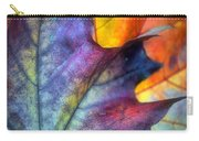 Autumn Leaf Abstract 2 Carry-all Pouch