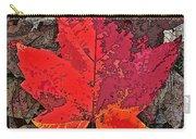 Autumn Leaf Art Iv Carry-all Pouch