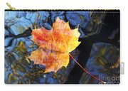 Autumn Leaf On The Water Level Carry-all Pouch