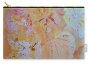 Autumn Leaf Splatter Carry-all Pouch