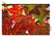 Autumn Leaves Collage Carry-all Pouch