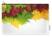 Autumn Leaves In Colour Carry-all Pouch