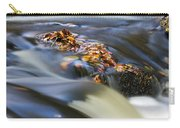 Autumn Leaves In Water Carry-all Pouch