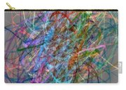 Autumn Likes Lines Carry-all Pouch by Michelle Calkins