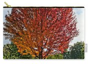 Autumn Maple Emphasized Carry-all Pouch