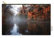 Autumn Morning By Wissahickon Creek Carry-all Pouch