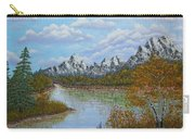 Autumn Mountains Lake Landscape Carry-all Pouch